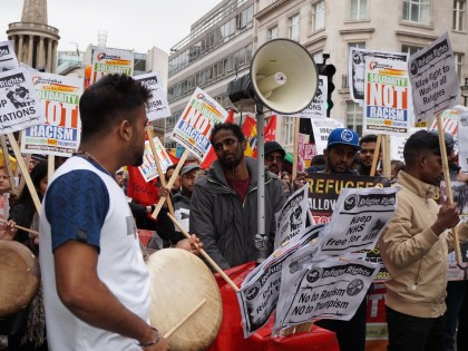 "[Tamilsolidarityweb]March against Racism demo: ""We are Refugees – Fighting for our Rights"""