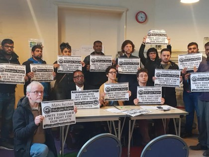 Launch of Manchester Refugee Rights Campaign